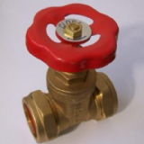 Brass Standard Gate Valve Pipe to Pipe 28mm - 07001200